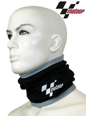 New Thermal Motorcycle Rider Neck Tube Warmer Comfort Fit Official Motogp Logo