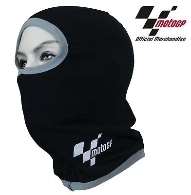 New Thermal Motorcycle Balaclava Face Warmer Comfort Fit Official Motogp Logo