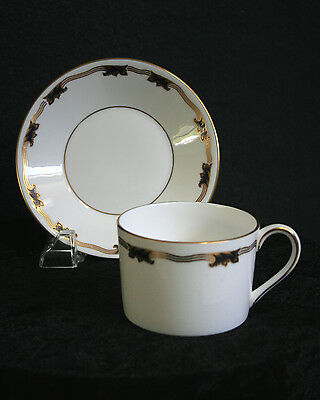 Coalport Fine Bone China St. Malo Flat Cup and Saucer Set(s) ENGLAND - 7 Avail
