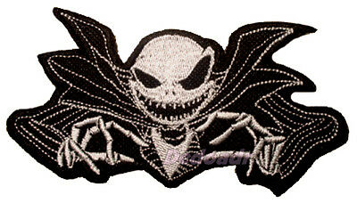 The Nightmare Before Christmas Jack Skellington Embroidered Patch Tim Burton