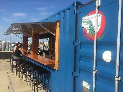 20 Ft Cargo Shipping Container Bar