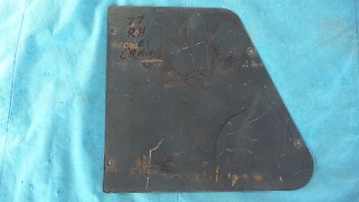 77  EL CAMINO Rear Bed Panel  Inspection Cover Plate  RIGHT SIDE