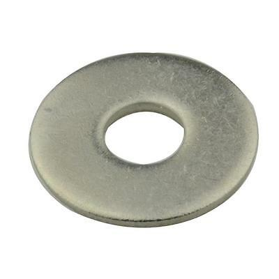 Qty 10 Mudguard Washer M8 (8mm) x 24mm x 2mm Stainless SS 304 Fender Penny