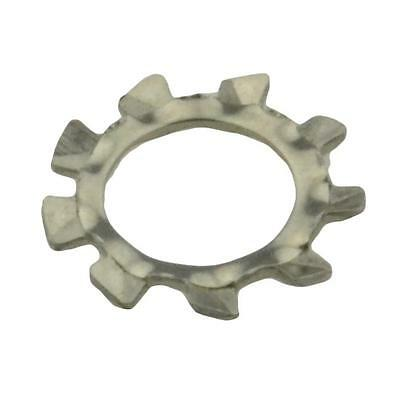 Qty 100 External Tooth Lock Washer M6 (6mm) Stainless Steel SS 304 A2 Star