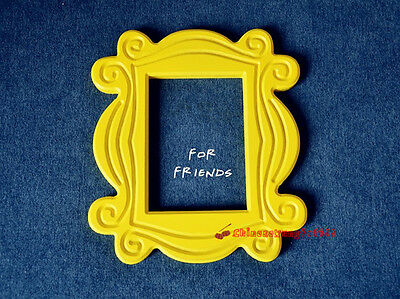 Friends TV Show Yellow Frame Peephole MONICA'S Door Home Decoration 10''x9''