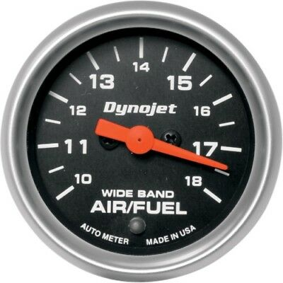 Dynojet Research Air/Fuel Ratio Gauges Black Face 15-7019 1020-0157