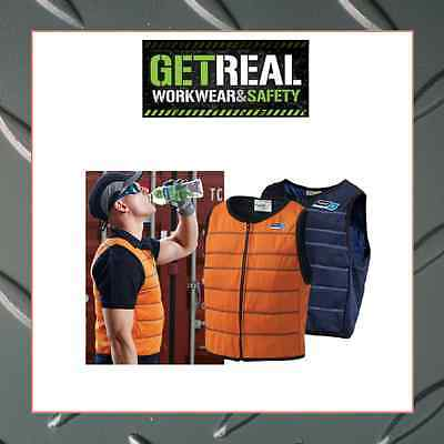 """Cooling Vest- """"Chilly Vest"""" Thortz, Lowers Body core temp, Made in Australia"""