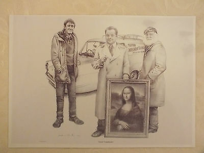 glossy print of Only Fools And Horses A4 size