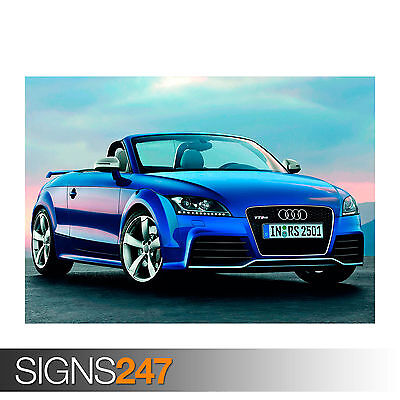 Photo Picture Poster Print Art A0 to A4 AUDI TT SPORTS CAR AD753 CAR POSTER