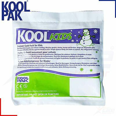 Kids Koolpak Instant Gel Ice Cold Pack Children Pain Headache Injury Therapy