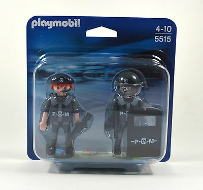 Playmobil 5515 Duo Pack Special Forces Swat Team NEW OVP NEU