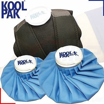Koolpak Ice Bag Small Medium Large Compress Cold Therapy Neoprene Wrap