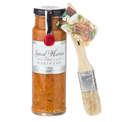 NEW Ogilvie & Co. Spiced Harissa Marinade with Brush 250ml