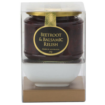 NEW Ogilvie & Co. Beetroot & Balsalmic Relish with Dish 210g