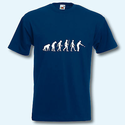 T-Shirt, Fun-Shirt, Evolution Boule, S-XXXL