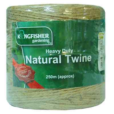 250m 500m 1000m Heavy Duty Natural Twine Home & Garden String Jute Great Value!