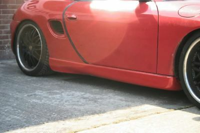 Porsche Boxster 986/987 Aero Side Skirts (Pair - Left/Right) 1996-2012 Brand New