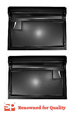 "PAIR Land Rover Series 3 Front Door Bottoms LH RH *NEW* OS NS SWB LWB 88"" 109"""