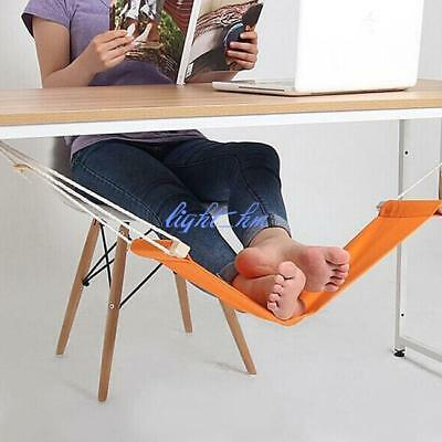 Home Office Under Desk Foot Hammock Rest Stand LH