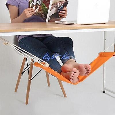 Home Office Under Desk Foot Hammock Rest Stand LH