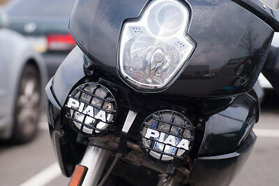 PIAA 510 Star White Driving Lights Auxiliary Lamps Kit for Ducati Multistrada