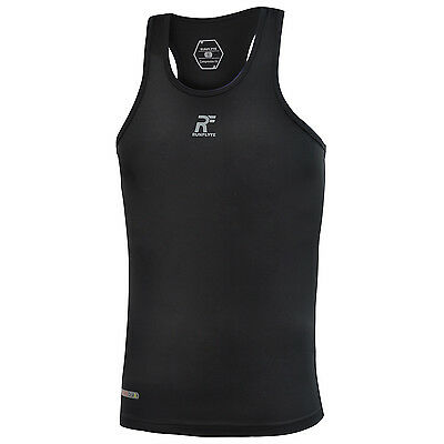 RunFlyte Men's Flyte Compression Athletic Tank Top Shirt Running Yoga Gym f1211