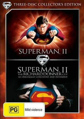 Superman II Collectors Eition  DVD R4