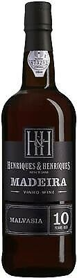 Madeira Henriques 10 Jahre Malmsey 0,75l