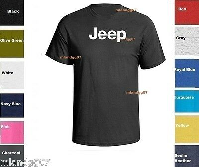 WWII Jeep Symbol T-Shirt Army Shirt SIZES S-5XL