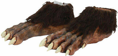 Morris Costumes Wolf Deluxe Latex Feet One Size. TB25361