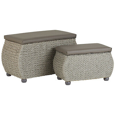 Awesome Hartleys Twin Storage Trunk Stool Bedding Blanket Rattan Pdpeps Interior Chair Design Pdpepsorg