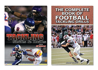 Tackling -  Football Instructional Book and DVD - Free Shipping