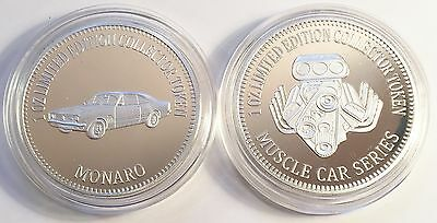 """HOLDEN MONARO"" Muscle Car Series 1 0z HSE 999 Fine Silver Coin/token LTD 2,500"