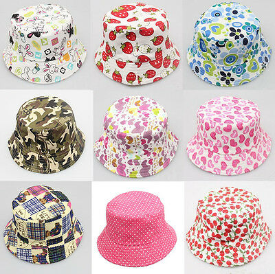 Infant Baby Sun Hat For Sweet Girl Boy Kids Retro Soft Bucket Cap Beanie Bonnet