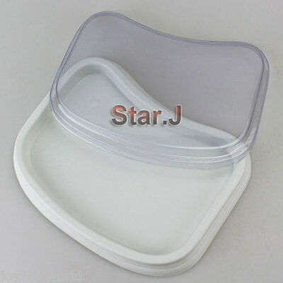 1 Plastic Case Box Holder Storage for SMALL Porcelain Mixing Watering Wet Tray