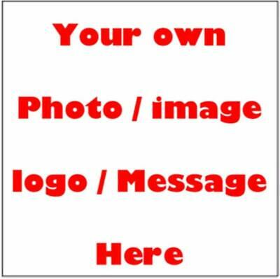 PERSONALISED PHOTO/ LOGO/LABEL/PICTURE Edible Icing/wafer Cake & Cupcake Toppers