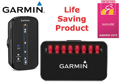 Garmin Varia Radar Bundle Bike Tail Rearview Light Warning Bicycle Safety New
