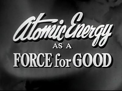Atomic Energy As Force For Good Nuclear Power Plant Promotional Film