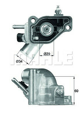 MAHLE ORIGINAL Thermostat Kühlmittel TI 5 92