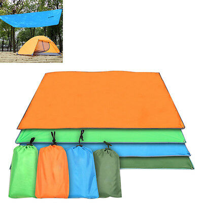 Waterproof Oxford Picnic Ground Sheet Camping Blanket Pad Beach Mat Blue Green