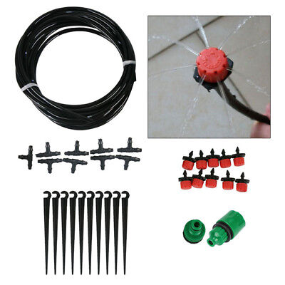 Instant Drip Kit Watering Gravity Fed Irrigation Plants Greenhouse Water System