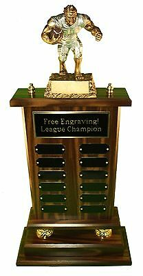 """Fantasy Football Trophy Huge 12 Year 24"""" Monster - Free Engraving!ships In 1 Day"""