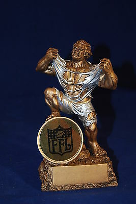 Fantasy Football Trophy Monster- Free Engraving - Ships In 1 Business Day!