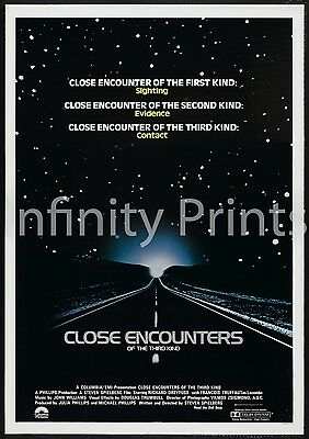 Close Encounter of the Third Kind Movie Film Poster A2 A3 A4