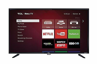 TCL 40FS3750 40-inch 1080p 120Hz Roku Smart LED HDTV w/ Built-in Wi-Fi & 3 HDMI