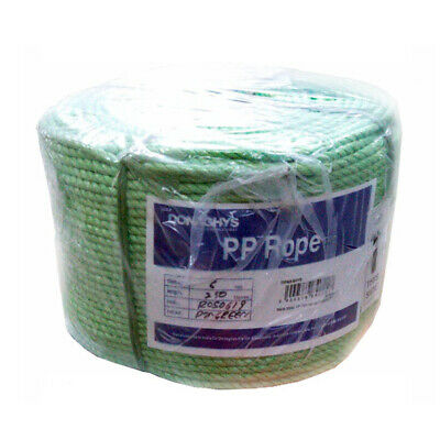 Donaghys Premium Green 12mm Polypropylene Rope | 250m Roll