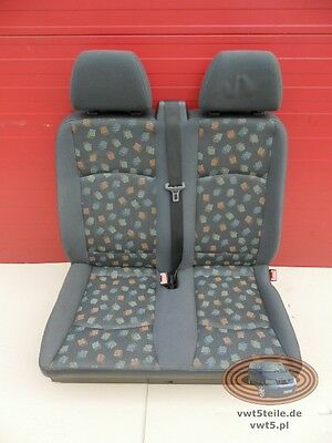 Seat Mercedes Vito 639 front double passenger seat LHD 2003-10