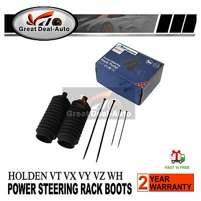 Pair Power Steering Rack Boot Set Holden Commodore VT VX VY VZ WH WK WL 97-04