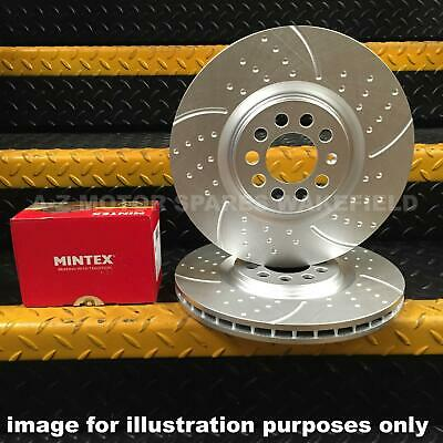 For Impreza Wrx 2.0 2.5 Turbo Rear Mintex Brake Pads And Grooved Discs 290Mm