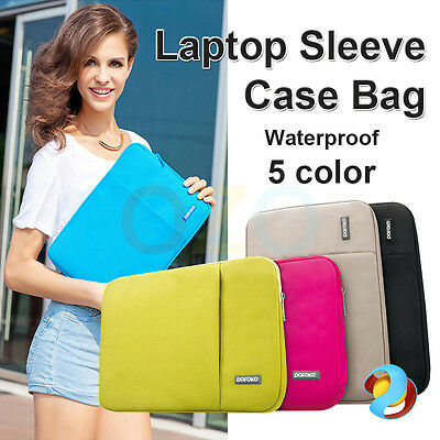 "Notebook Laptop Sleeve Case Carry Bag For Mac MacBook Air Pro 11"" 13"" Waterproof"